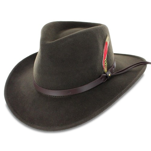Belfry Expedition Wool Felt Outback Hat