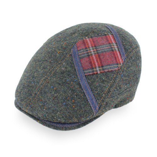 Belfry Italia Zampa Made in Italy Wool Flat Cap