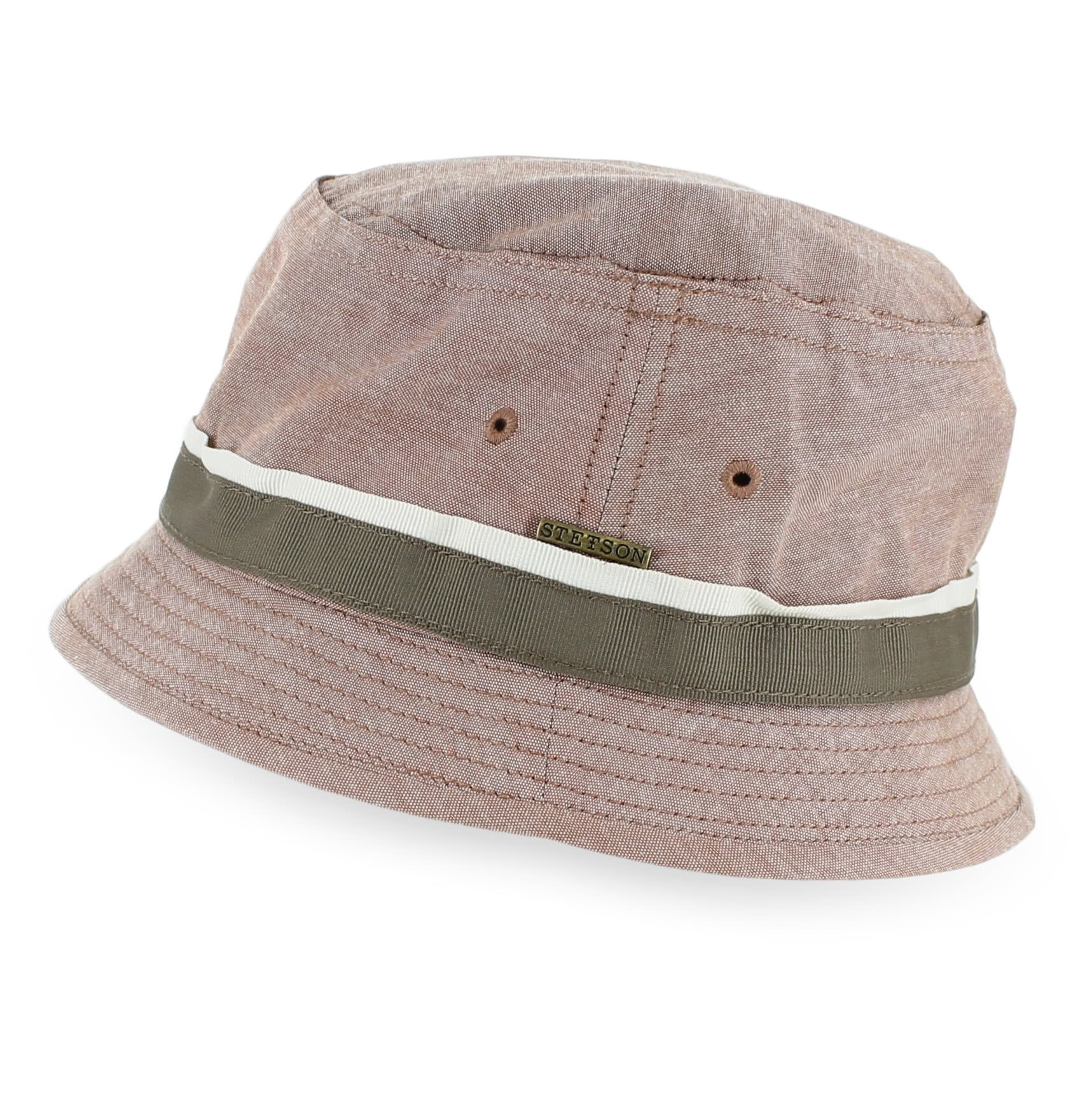 ecb4a4332 Stetson Oxford - Crushable Cotton Twill Bucket