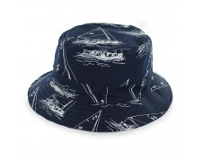 Belfry Blue - Reversible Cotton Bucket Hat