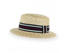 Belfry Boater Classic Straw Boater
