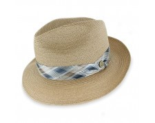 Stetson Handmade  for Belfry Ren Hemp Braid Fedora Hat