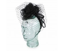 Marzi Liliana - Silk Blend Fascinator Made in Italy