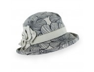 Belfry Ilaria - Linen Small Brim Hat Made in Italy